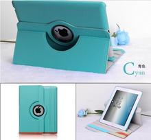 PU leather 360 rotating smart holder for mini ipad covers for ipad air covers