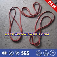 Food grade silicone rubber edging for tables