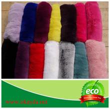 Dyed rex rabbit fur skin cheap price