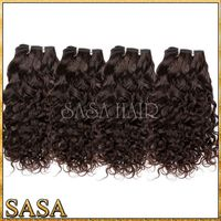 Beauty products virgin jerry curl weave extensions human hair