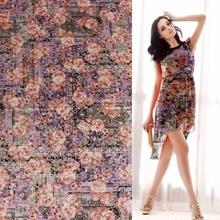60S cotton woven textiles printed poplin fabrics for fashion girl dress