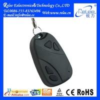 720*480 Mini dv keychain camera manual very very small hidden 808 car keys micro camera