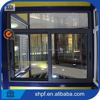 Fashion sliding aluminum profile windows and door