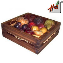 Fancy wooden dry fruits box for sale HCGB8079