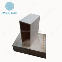 wood stash box, wood quran box, handmade wood box