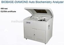 CE,FDA certified Fully Automatic Biochemistry Analyzer-400 test per hour / biochemical analyzer