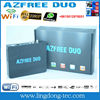 Receptor azfree duo with iptv 3G iks sks free for South America