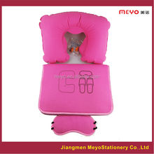 neck pillow,eye pad,slipper,packing bag set,for2015products promotional gifts