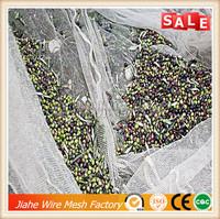 agriculture HDPE with UV green color olive tree harvest net,plastic olive net for collection,olive netting