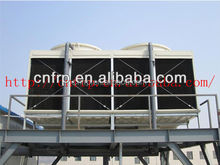Dubai good effect cooling tower 1000 tons/h cooling tower open type cross flow FRP cooling tower producer