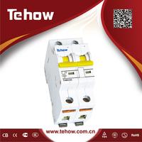 electric mini excavator/4 amp circuit breaker with pushbutton/vacuum interruptor