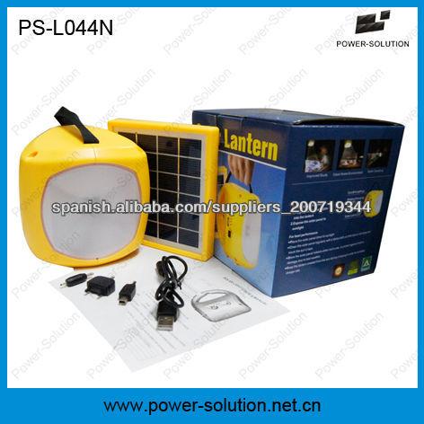 luz de trabajo solar con cargador de teléfono USB