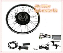 CE approved!48v 500w electric bike conversion kit with front wheel