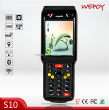 High speed rugged GSM GPS RFID industrial smartphone with sim card