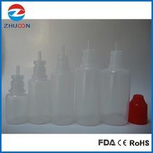 manufacture PE childproof tamper cap eliquid dropper bottle 20ml PET plastic dropper bottle eliquid dropper bottle