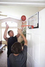 Lexan polycarbonate Mini basketball backboard 18x12 inches/basketball hoop backboard indoor or office