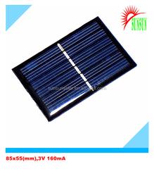 Epoxy resin 85x55 3V 160mA mini solar panel