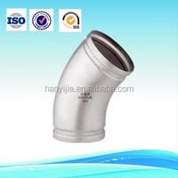 ASME/ANSI B16.9 Stainless Steel Butt Welded 90 degree elbow