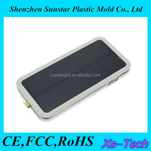 2015 new trending solar mobile charger cover battery case