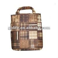 Fashionable laminated rpet shopping bag recycled rpet bag