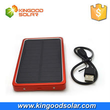 4000mAh portable mobile solar power bank battery charger external backup