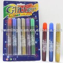 Various types 15ml glitter glue pen