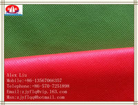 The national flag is red PP non-woven fabric In the autumn of 2013 Canton fair exhibitors products