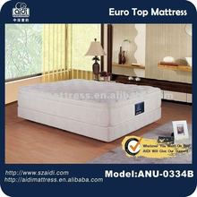 Luxury 5-Star Hotel Furniture Manufacturer; Soft Pocket Spring Latex Foam Mattress