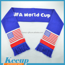 American football fans scarf for Christmas promotional gifts
