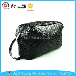 2015 china diamant wholesal leather cosmetic bag