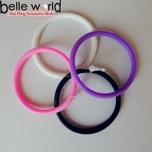 Mode Gel de silice bande de cheveux / Durable coloré élastique extensible filles caoutchouc elastiques