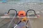 Transparente plástico transparente boat kayak canoe