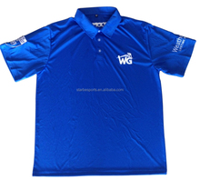 Men branded formal polyester dry fit running polo t shirts
