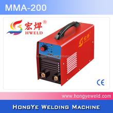 high quality arc 200A plastic welding machine
