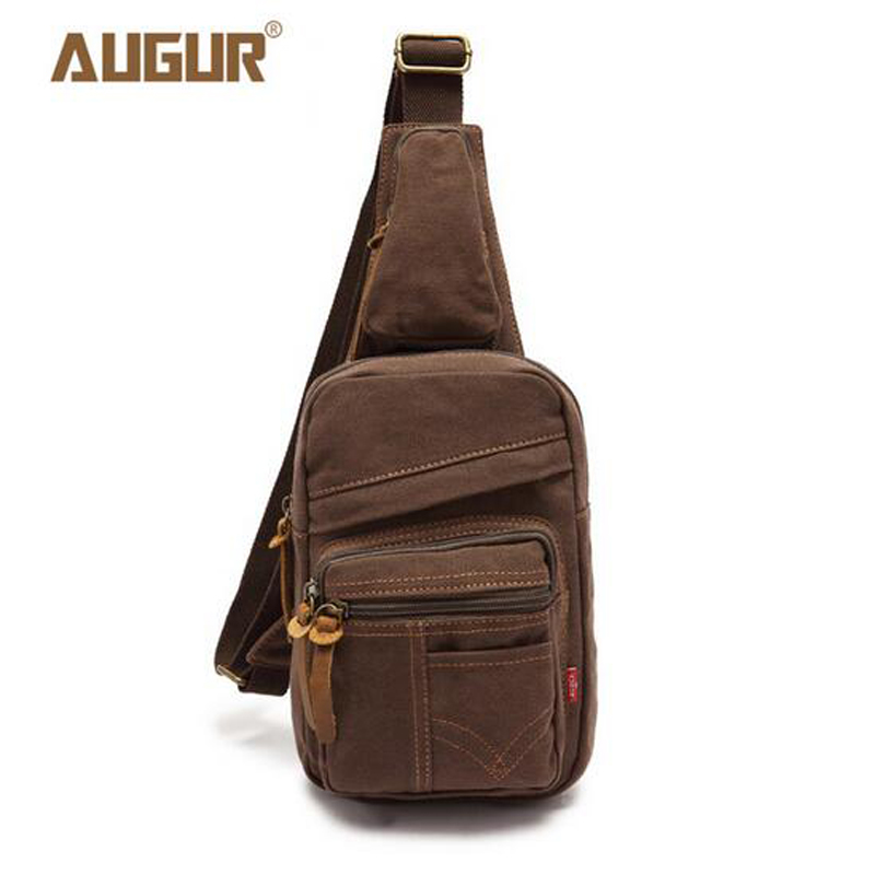 Augur Brand New Fashion Canvas Crossbody Bags For Men Luxury ...