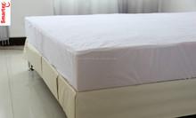 terry with TPU waterproof mattress protector,pu pvc laminated mattress cover