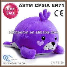 Promotional gift plush sea animals seal