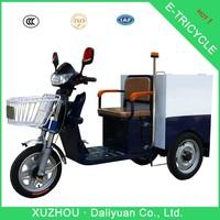 enclosed 3 wheel motorcycle 3-wheel motorcycle car for garbage