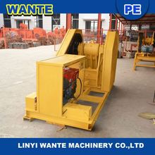 2100kg hot sale small stone crusher/small diesel engine jaw crusher