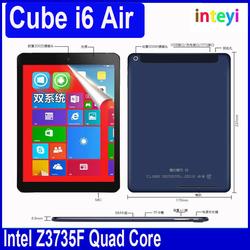 CUBE I6 Air 3G Dual Boot 9.7'' Air Retina Intel Z3735F Quad Core Windows8.1+Android4.4 2GB 32GB ROM GPS Phone Call tablet pc