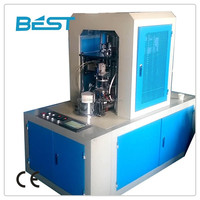 Supply fully automatic smart flat cup edge Volume mug machine, crimping machine