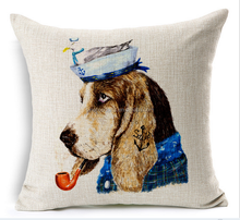 2015 China factory direct supply alibaba 100% cotton and linen selling well fashion super soft dog baby pillow