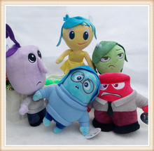 5pcs Set Inside Out Plush Cartoon Toys& Hobbies soft Doll Stuffed Movie TV