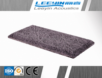 MDF ECO Soundproof Wood Wool Insulation Board For Cinema Interior Decoration