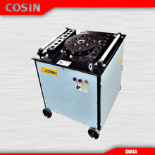 COSIN GW40 Engineers Available to Service Machinery Overseas After-sales Service Provided Steel Bar Bender Cutter