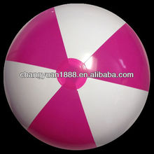 Red &white beach ball