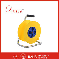 2x1.5 2x2.5 German socket Cable reel QC3230 CE proved