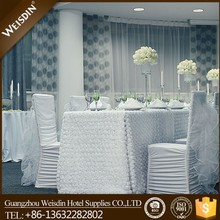 Ruffle wedding fancy chair sashes and chair covers