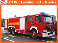 HOWO firefighter truck 6*4 howo fire truck 12000 liters fire fighting pump used