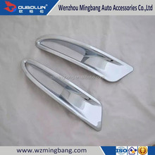 Exterior Decoration Car Accessory Chrome foglight cover Front and Rear Fog Light Cover for Mazda Axela 2014